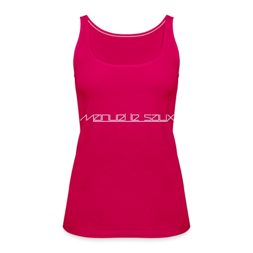 MLS Girlie Sexy Top White Logo - Women's Premium Tank Top