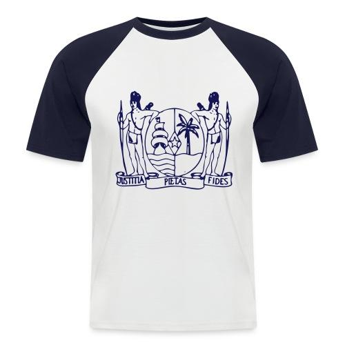 Wapen van Suriname Shirt - Mannen baseballshirt korte mouw