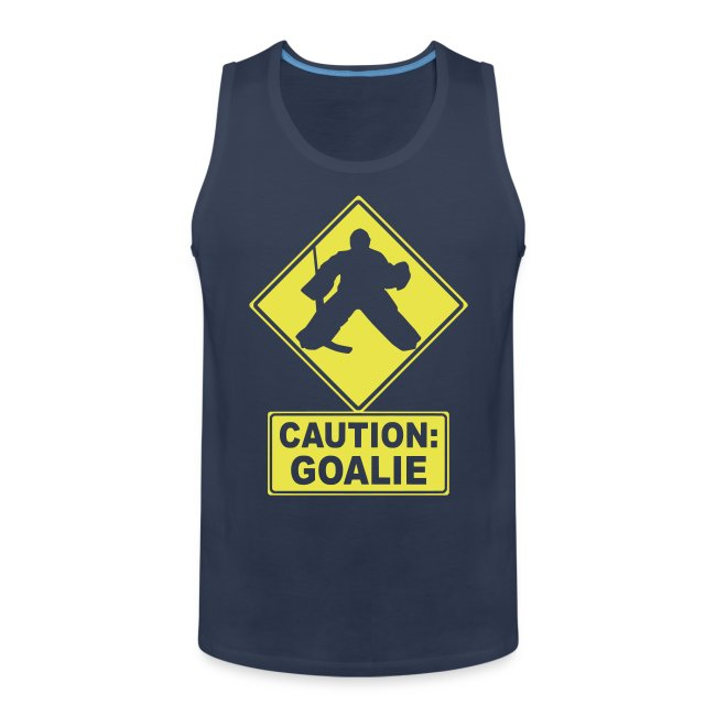 Caution: Goalie Men's Vest Top