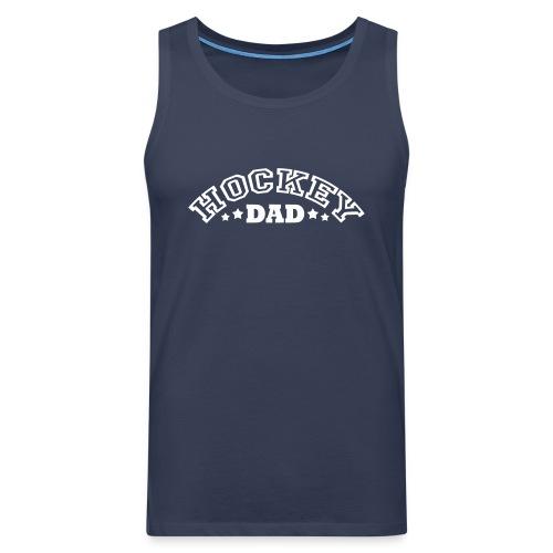 Hockey Dad Vest Top - Men's Premium Tank Top