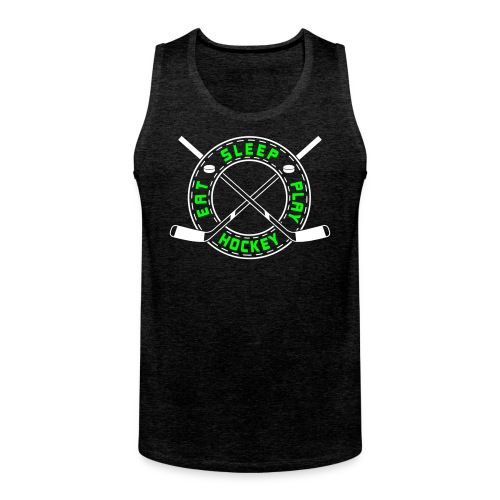 Eat, Sleep, Play Hockey Men's Vest Top - Men's Premium Tank Top