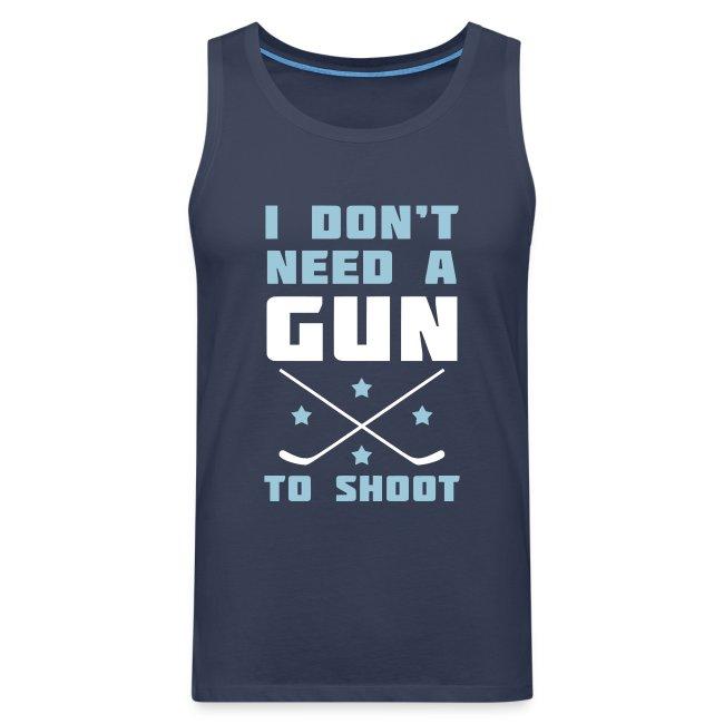 I Don't Need A Gun To Shoot Men's Vest Top