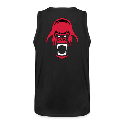 ANGRYGORILLAS Muscle-Shirt - Männer Premium Tank Top