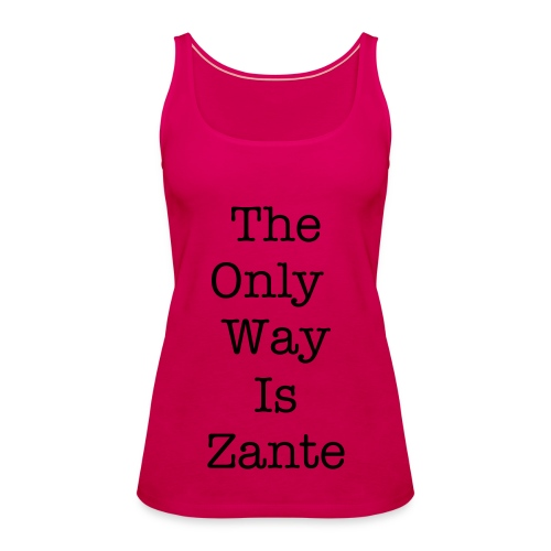 The Only Way is Zante - Women's Premium Tank Top