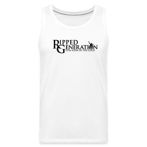 Miesten Hihaton Paita Ripped Generation - Miesten premium hihaton paita