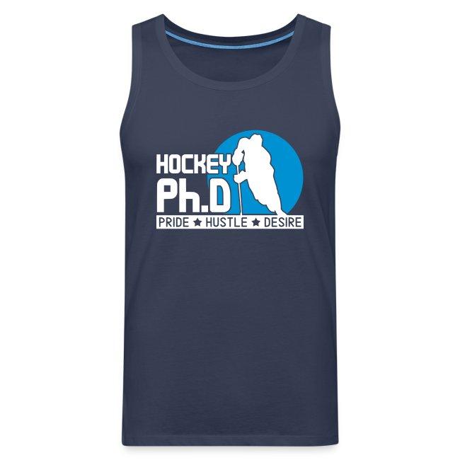 Hockey Ph.D Men's Vest Top