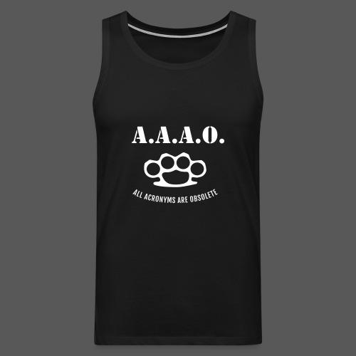 A.A.A.O. - Männer Premium Tank Top