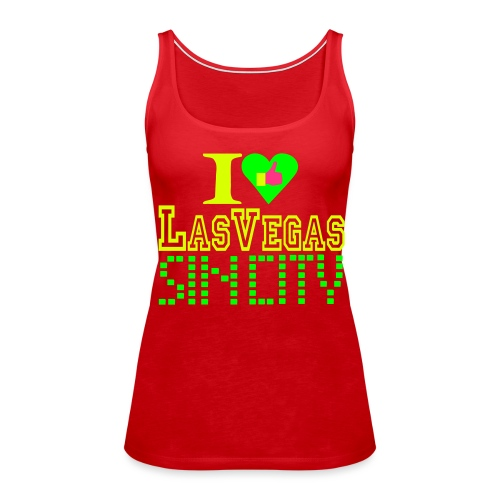 I like Las Vegas sin city - Women's Premium Tank Top