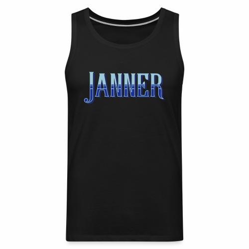Janner, Devon, Men's Vest Top - Men's Premium Tank Top