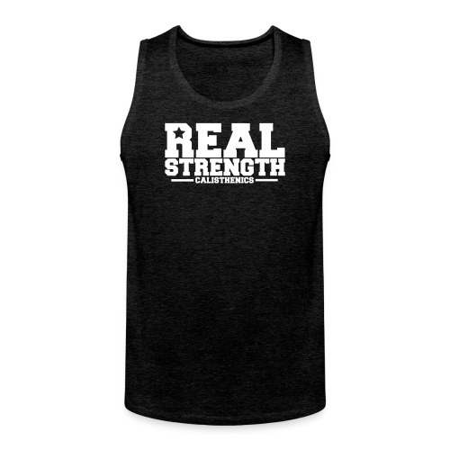 Real Strength - Men's Premium Tank Top