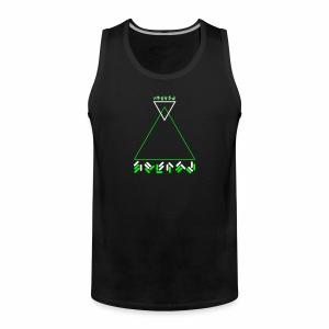 Alien Text - Tanktop - Männer Premium Tank Top