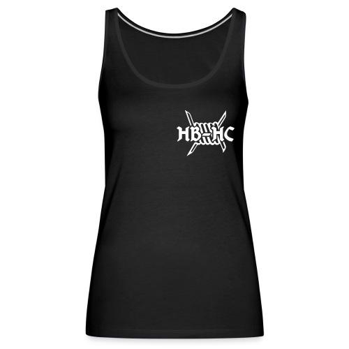 Hakke Bitch mit HB-HC Logo (Frauen, TankTop) - Frauen Premium Tank Top