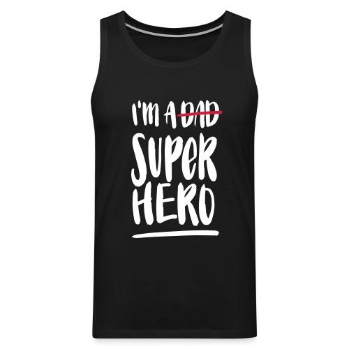 Dad-Superhero Tank Top für Männer - Männer Premium Tank Top