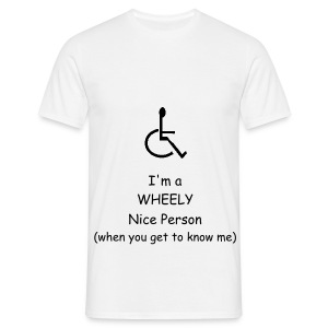 Wheely Nice Person - Men's T-Shirt