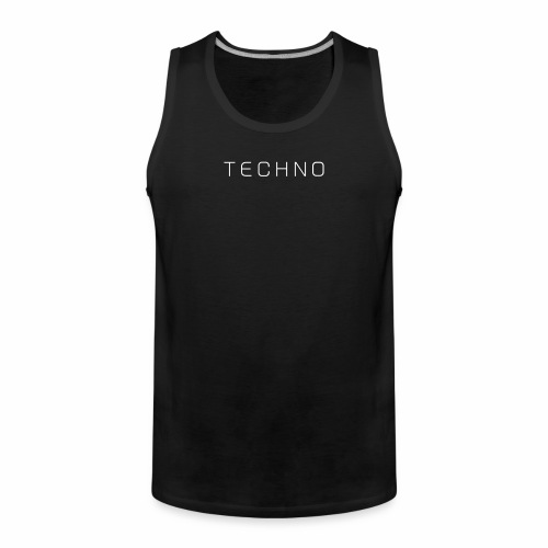 Only Techno - Tanktop - Männer Premium Tank Top