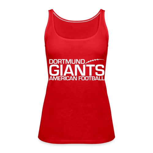 Damen Tank-Top rot - Frauen Premium Tank Top