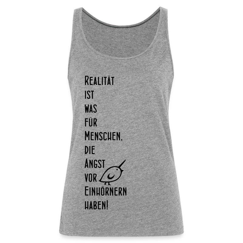TWEETLERCOLLS Einhorn - Frauen Premium Tank Top