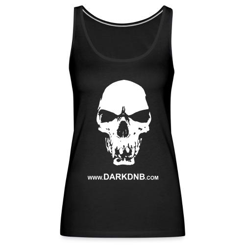 Dark Skull Women's Tank Top - Women's Premium Tank Top