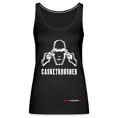 DJ Casketkrusher Tank Top Female - Women's Premium Tank Top