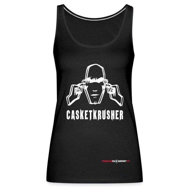 DJ Casketkrusher Tank Top Female