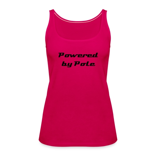 Powered by Pole - Vest top - Women's Premium Tank Top