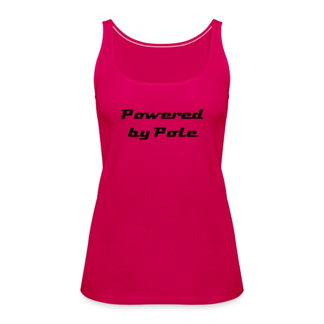 Powered by Pole - Vest top