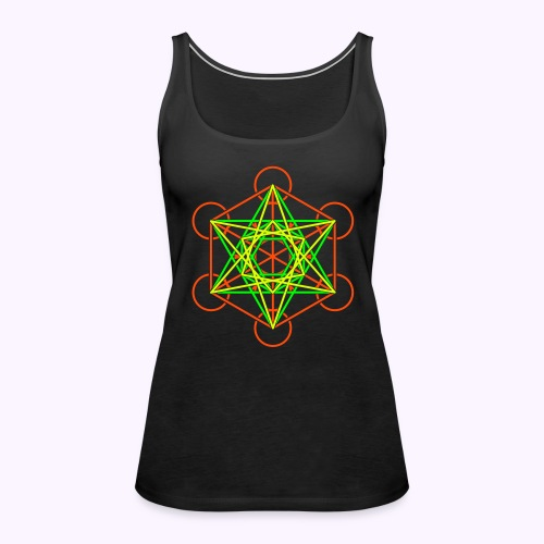 Metatron Tank Top - Camiseta de tirantes premium mujer