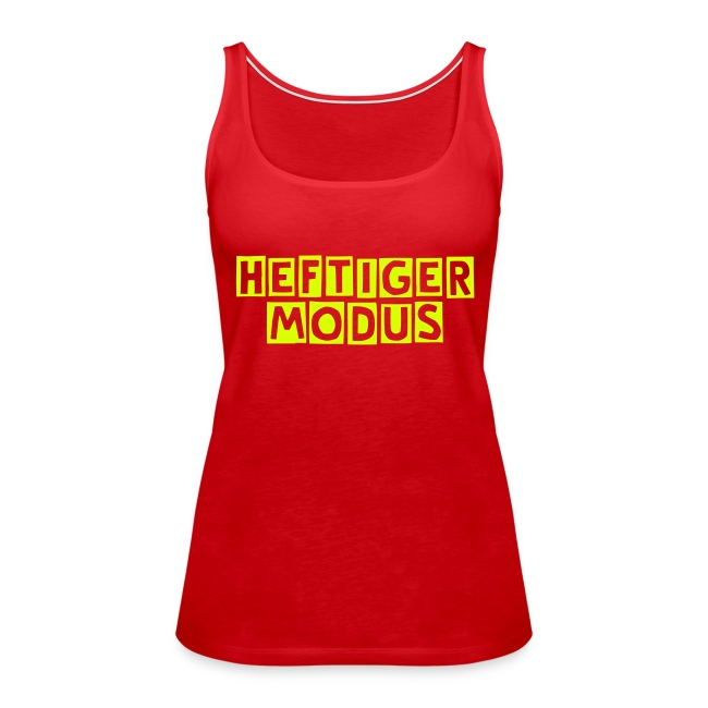 BC-HEFTIGER MODUS Tank Top, yellow