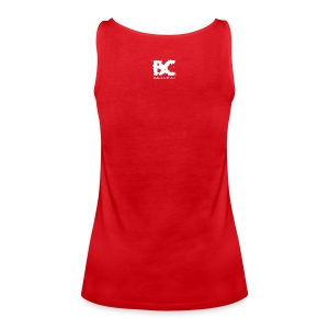 BC-HEFTIGER MODUS Tank Top, yellow - Frauen Premium Tank Top