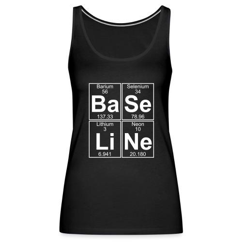 Ba-Se-Li-Ne (baseline) - Women's Premium Tank Top