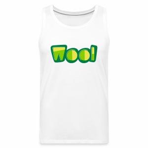 Wool (Liverpool Slang) Men's Vest Top - Men's Premium Tank Top
