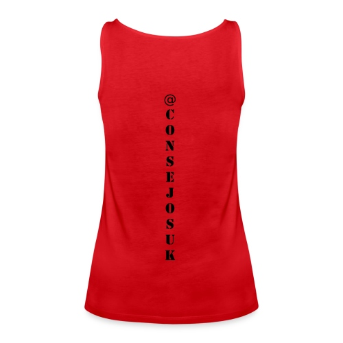 Suscribete a ConsejosUK - Women's Premium Tank Top