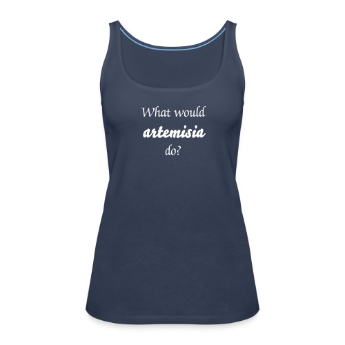 What would Artemisia do? - Vrouwen Premium tank top