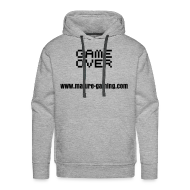 Hoodies & Sweatshirts ~ Men's Premium Hoodie ~ game over