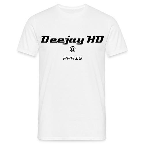 T Shirt HD Paris - T-shirt Homme
