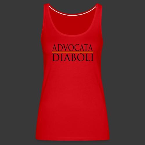 ADVOCATA DIABOLI - Women's Premium Tank Top
