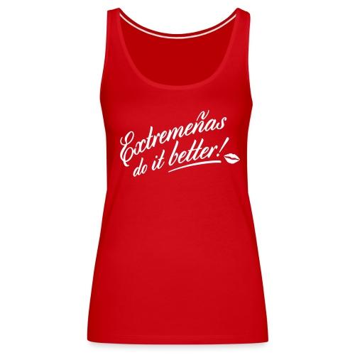 Camiseta chica, do it better - Camiseta de tirantes premium mujer