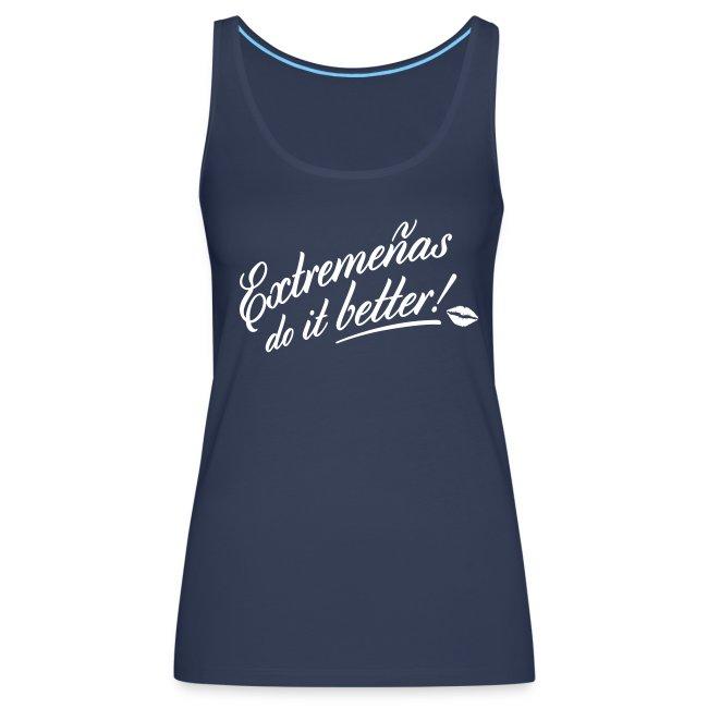 Camiseta chica, do it better