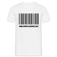 T-Shirts ~ Men's T-Shirt ~ MG barcode
