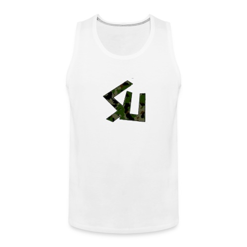 SainT Camo Tank Top - Men's Premium Tank Top
