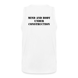Mind and body under construction - Men's Premium Tank Top