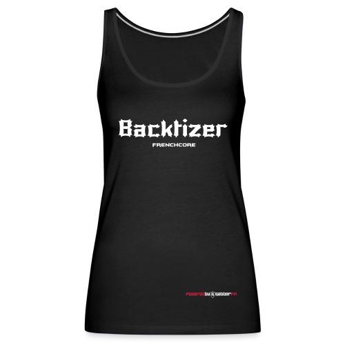 Backtizer Tank Top Female - Women's Premium Tank Top