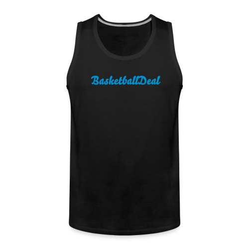 BasketballDeal top - Men's Premium Tank Top