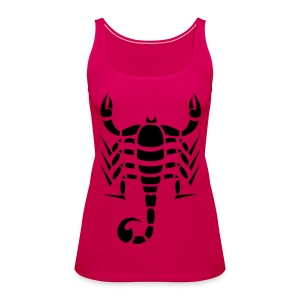 Skorpion - Frauen Premium Tank Top