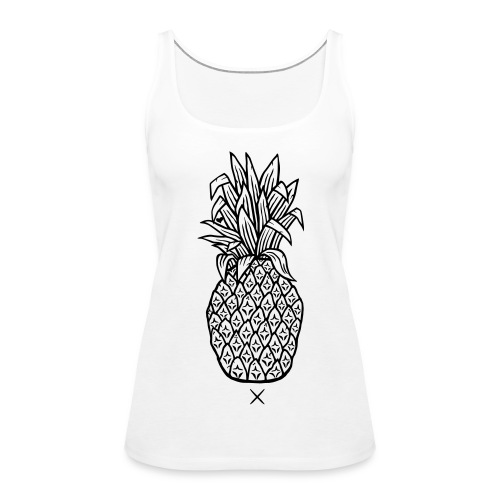 Pineapple Alt - Women's Premium Tank Top