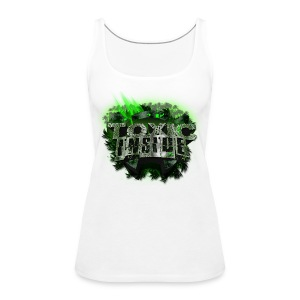 ToXic Inside Tank FEMALE [White] [Add Your Own Text] - Women's Premium Tank Top