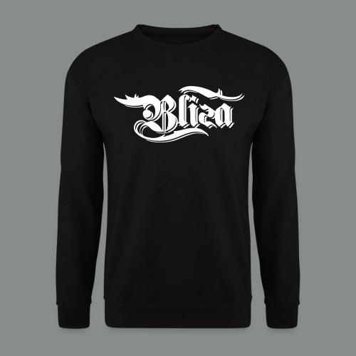 MÄNNER PULLOVER  |  BLIZA LOGO WEISS - Männer Pullover
