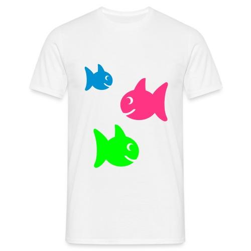 Fishy - T-skjorte for menn