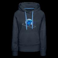 Pullover & Hoodies ~ Frauen Premium Kapuzenpullover ~ Hoodie navy/blau