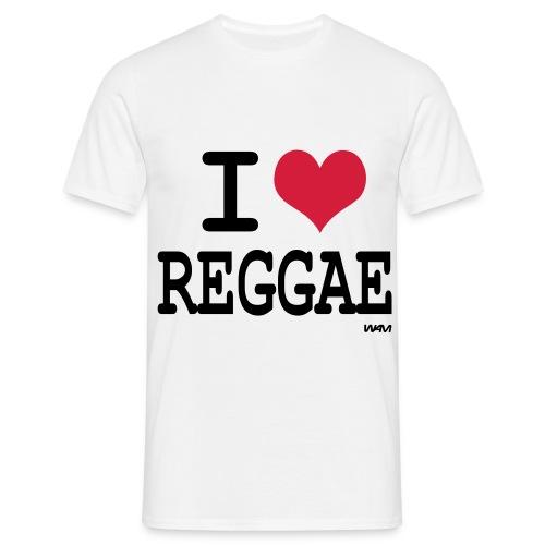 Reggae T-shirt. - T-shirt herr